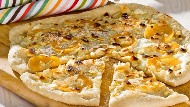Dessert pizza recept