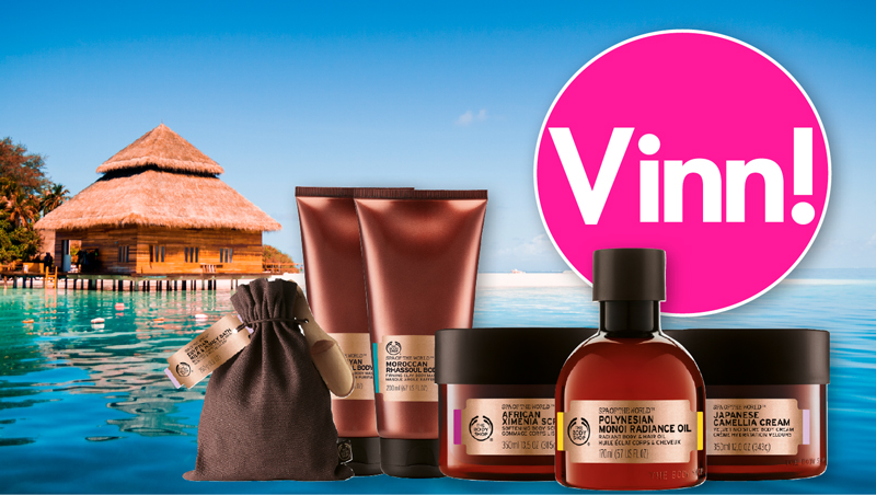 Vinn lyxiga produkter från The Body Shop