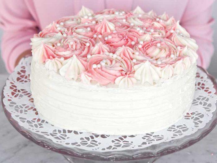 tårtfyllning vit choklad