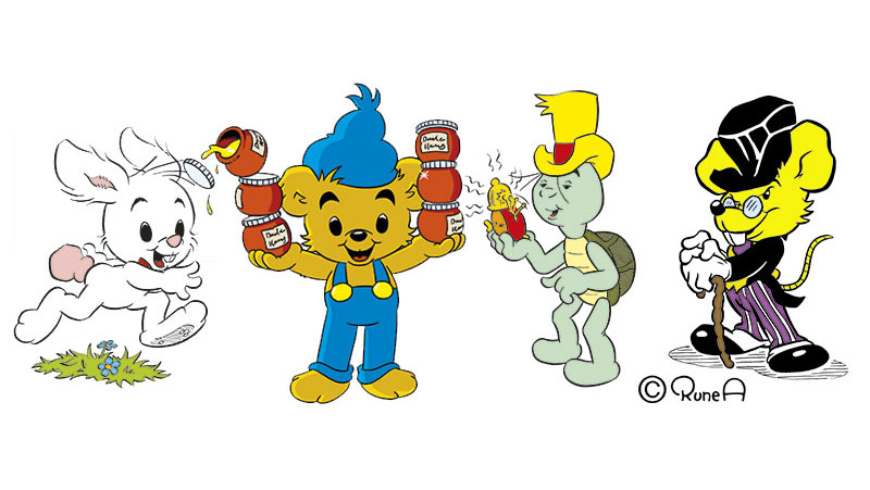 Bamse och hans vänner