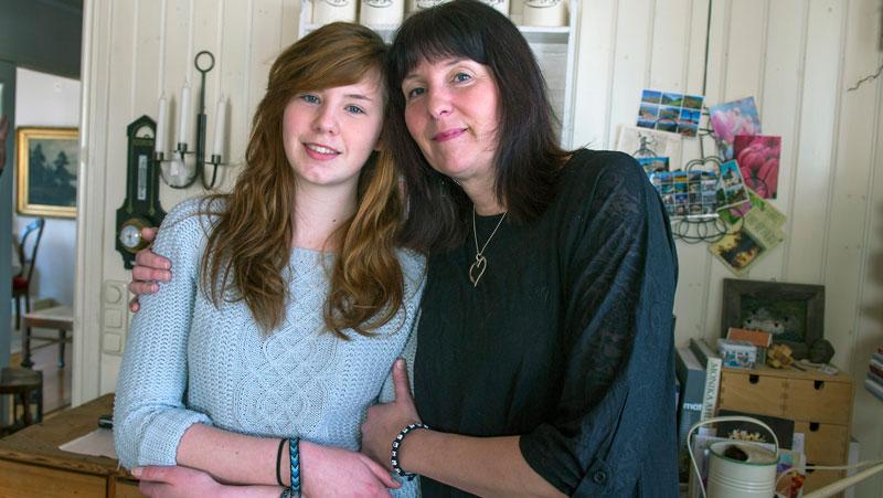 Det har tagit tid för både Vendela och hennes mamma Marie att komma över traumat.