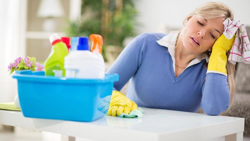 städa hemma tips