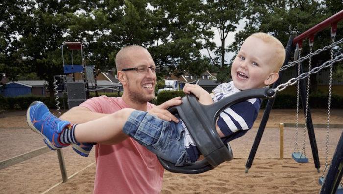 Max var ett väldigt efterlängtat barn och Christian är idag en lycklig tvåbarnspappa.