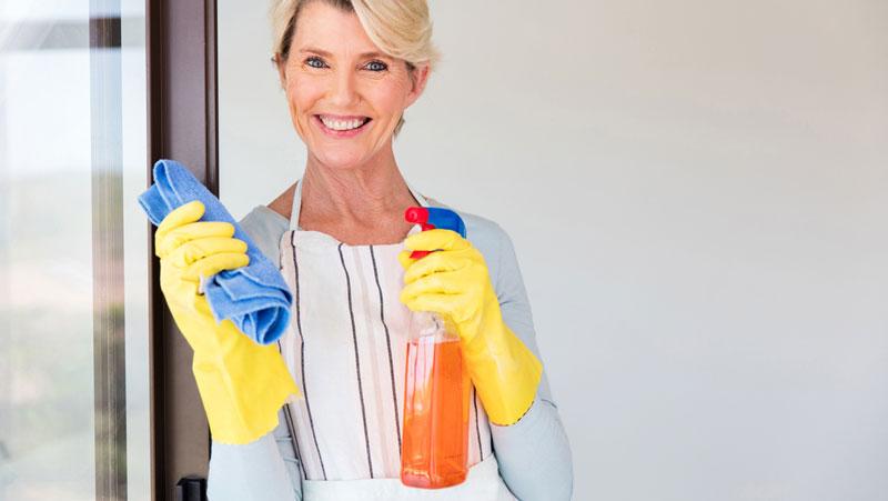 städa hemma checklista