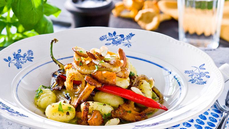 Hemgjord gnocchi av potatis recept