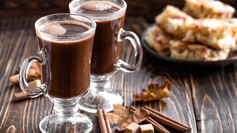 varm choklad med chili
