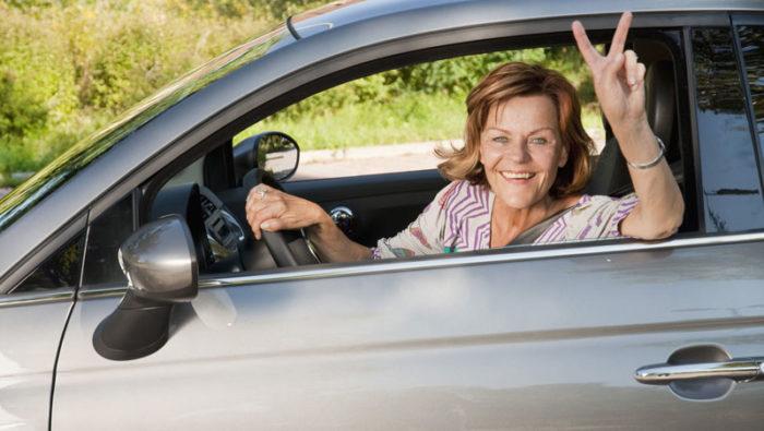 kvinnor kör bättre än män