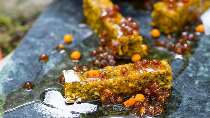 Morotskaka med havtorn recept