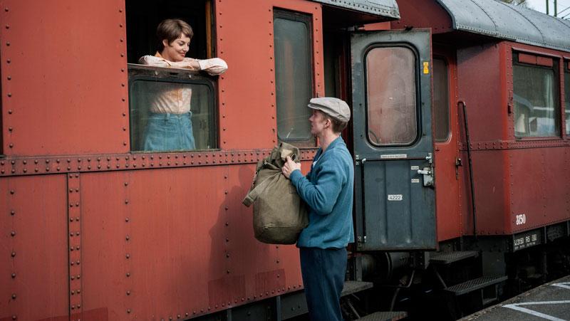 En scen ur filmen En man som heter Ove.