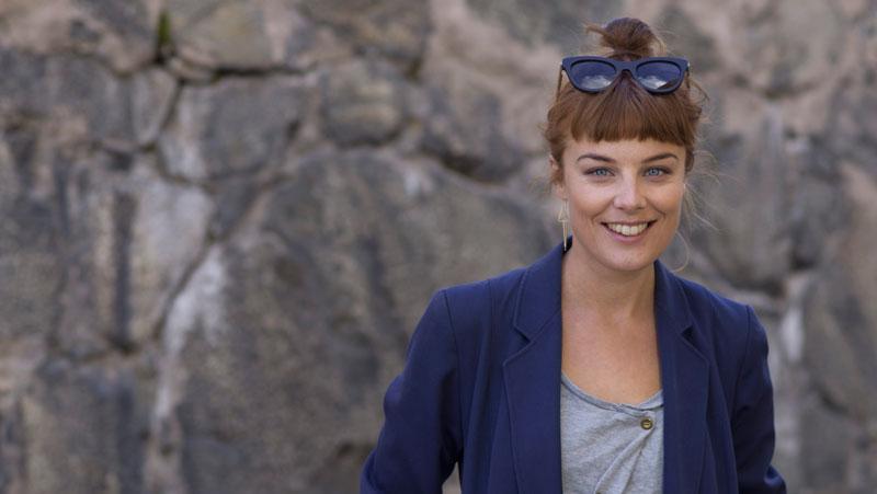 Ida Engvoll spelade i bio-succén En man som heter Ove.