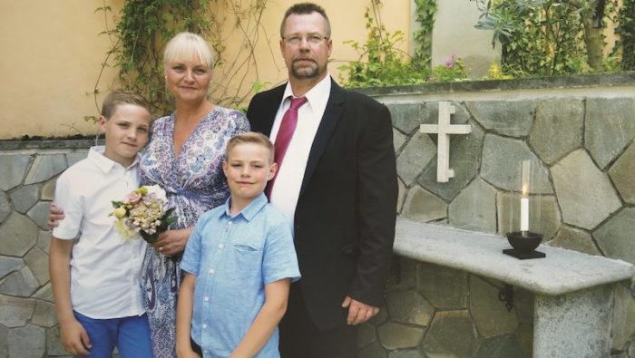 Flygvardinnans familj hon levde sin drom