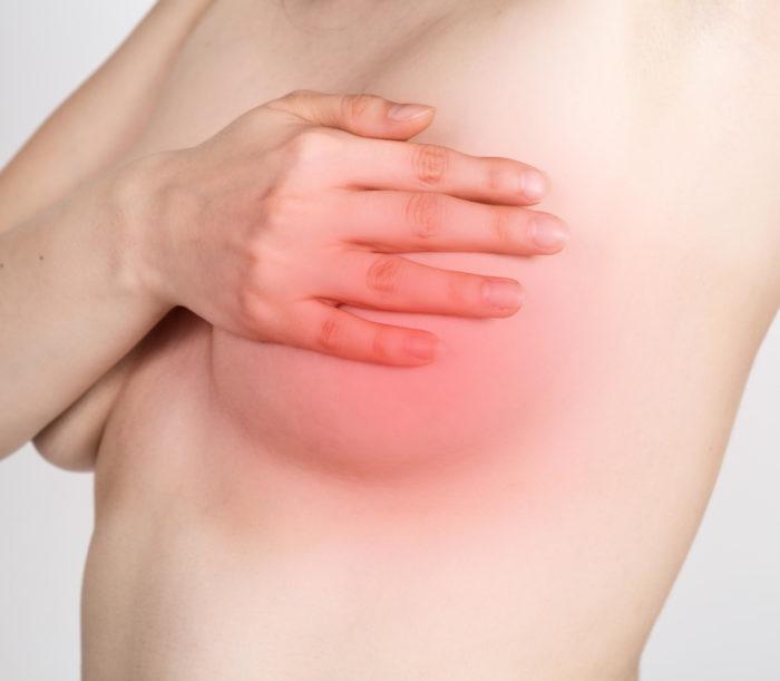 Svullna bröst innan mens