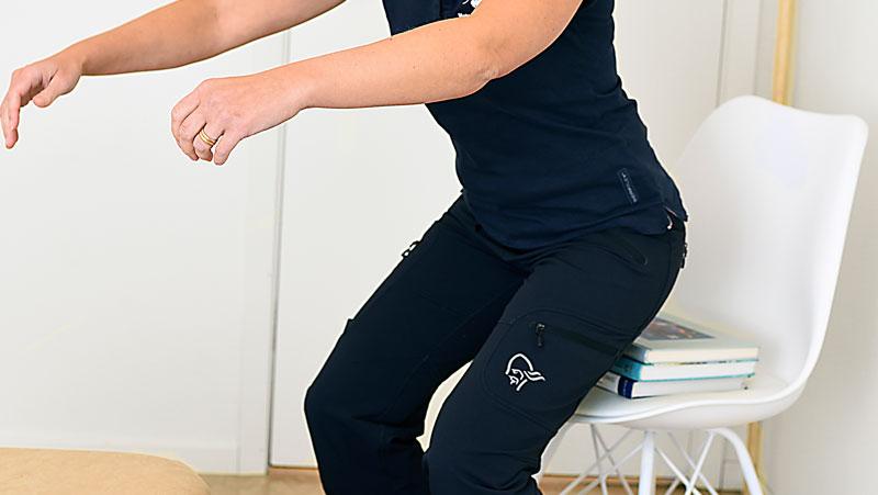 artros övningar höft