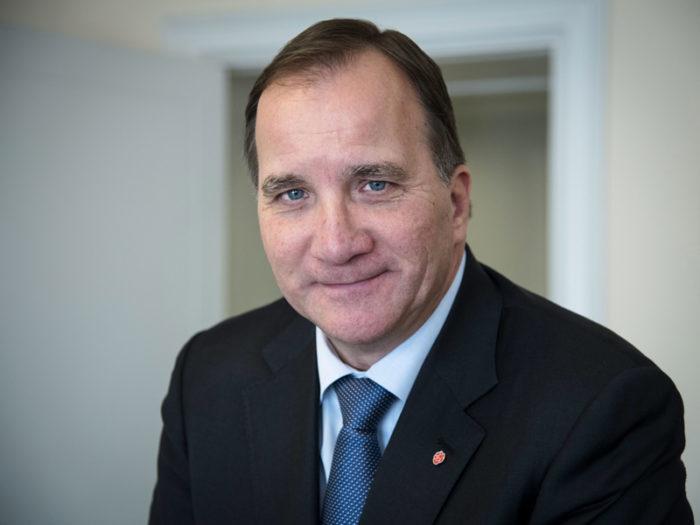 Sverige statsminister Stefan Löfven.