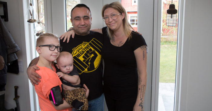 Diabetessjuke Hugo fick livsviktig hjalp av Ari