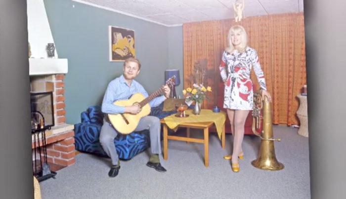 Bruno Glenmark och Ann-Louise Hanson är ett par sedan 60-talet.