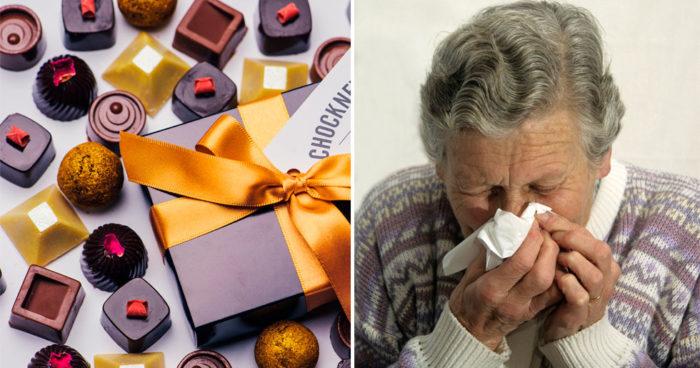 choklad innehåller histaminer