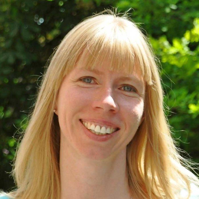 Överläkare Eva Olofsson.
