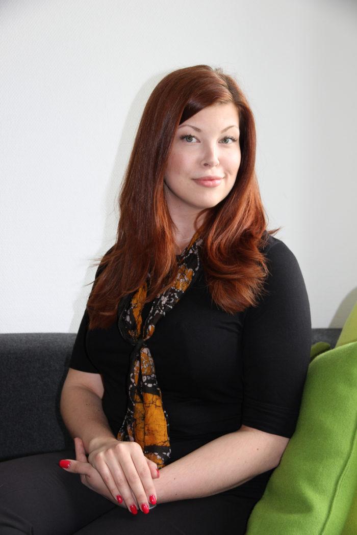 Julia Boija, jurist på Barnombudsmannen