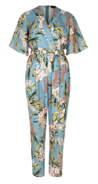 Gör det enkelt och bär en jumpsuit från River Island. Snyggt och modernt med helmönstrat från topp till tå!