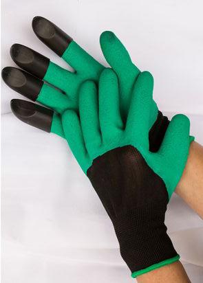 Handskar med klor – bekväm modell med klor på högerhanden.