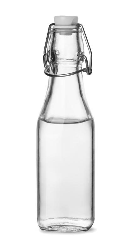 En flaska ättika för att använda till illaluktande skor.