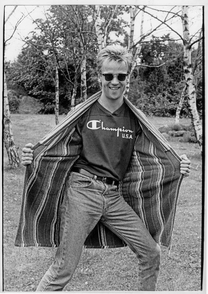 Björn Skifs comebackade som rockartist med Badrock 1986