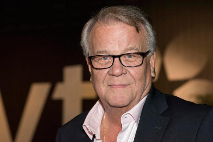 Lasse Berghagen på inspelningen av SVT 60 år i november 2016.