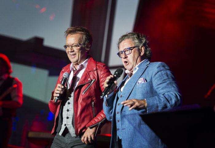 Björn Skifs och Tommy Körberg på Skansen 2016