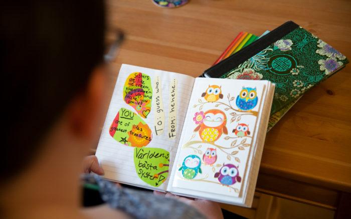 Erika Drewke lever med MS och då hjälper henne må-bra böcker henne mycket.