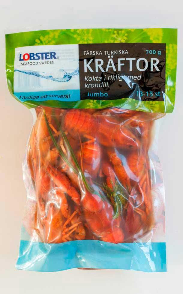 Lobster färska turkiska kräftor