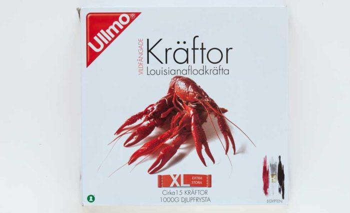 Ullmo 15 extra stora vildfångade frysta kräftor