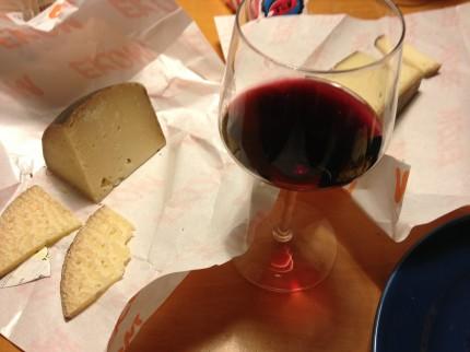 ost & vin, Italian style.