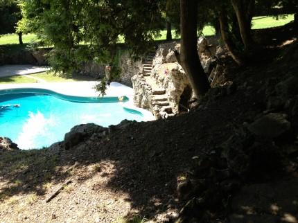 För svalkande dopp, Villa Val lemme