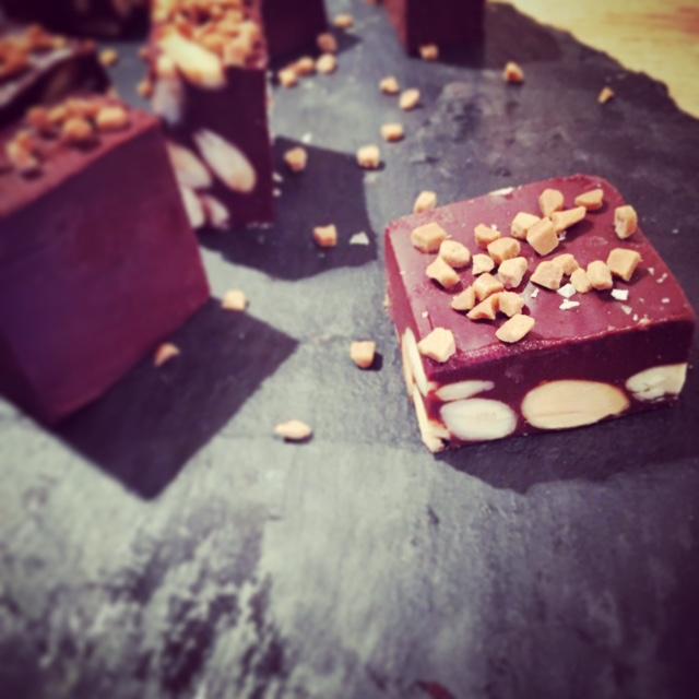 Chokladtryffel.
