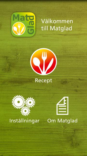 Så här ser appen ut!