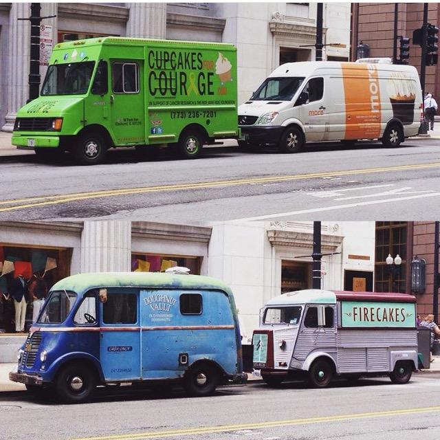 Dessa Food trucks finns i USA. Kanske ska dra igång en rullande kakbil?