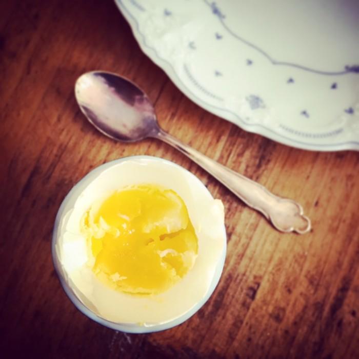 Det perfekta kokta ägget ska vara krämigt!