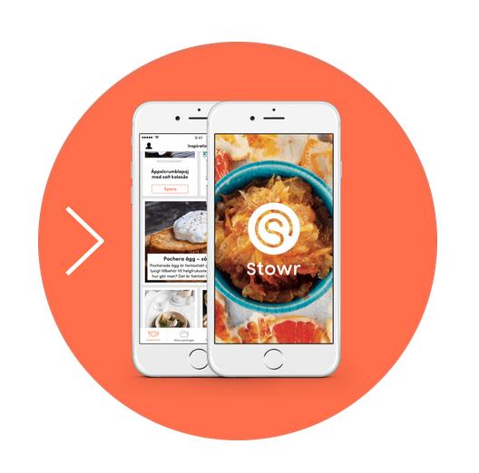 Stowr en ny digital recepttjänst från Aller media.