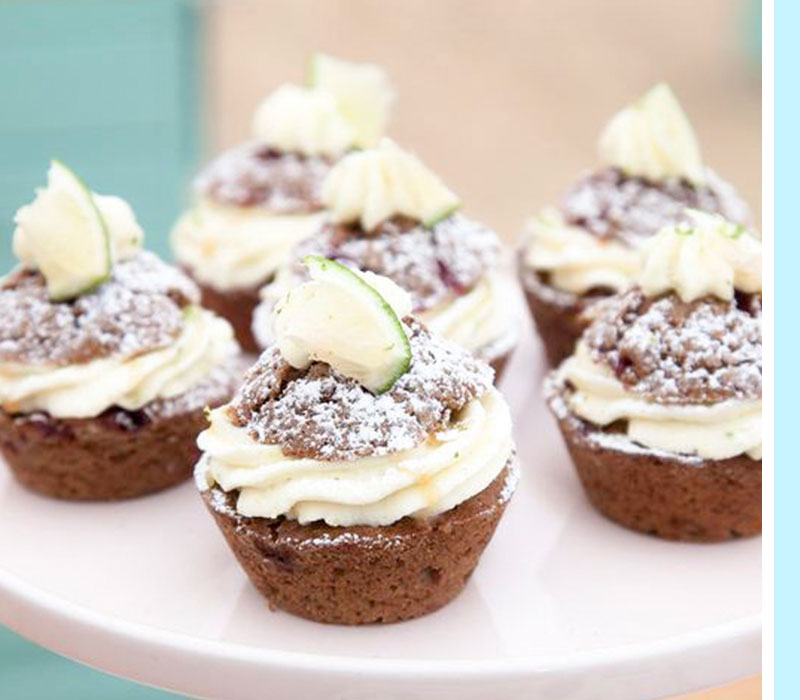 muffins-lingon