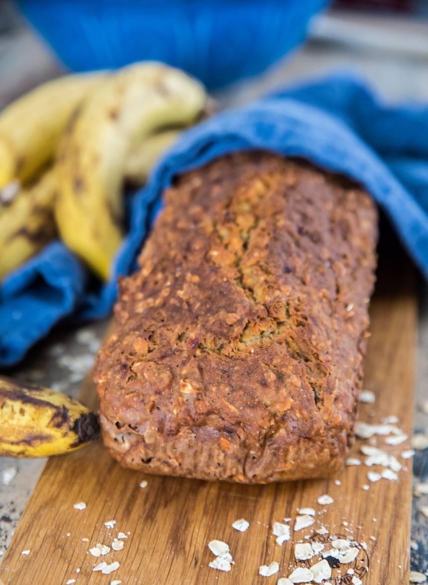 Enkelt bananbröd som går supersnabbt at göra!