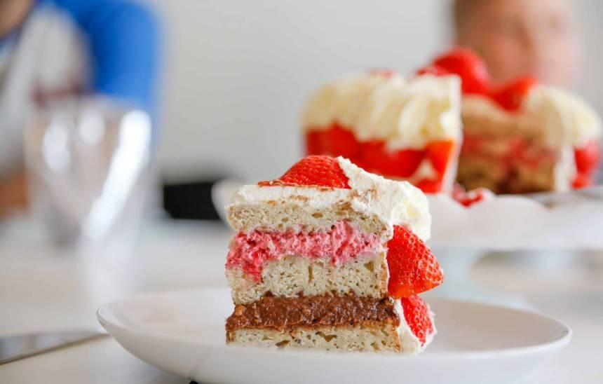 sockerfri tårta utan sötningsmedel
