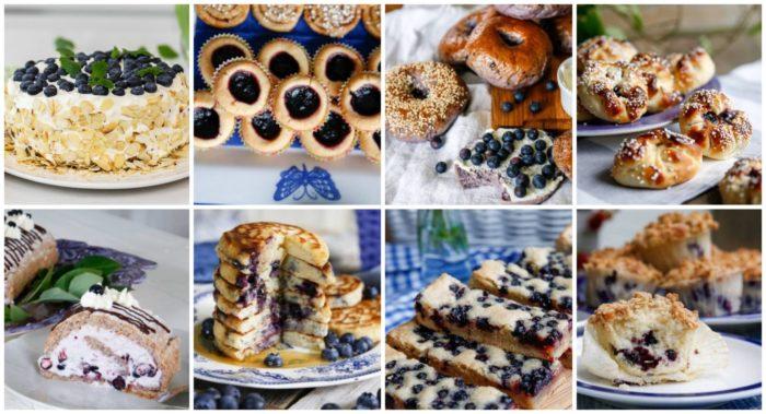 Recept med blåbär på alla sätt och vis