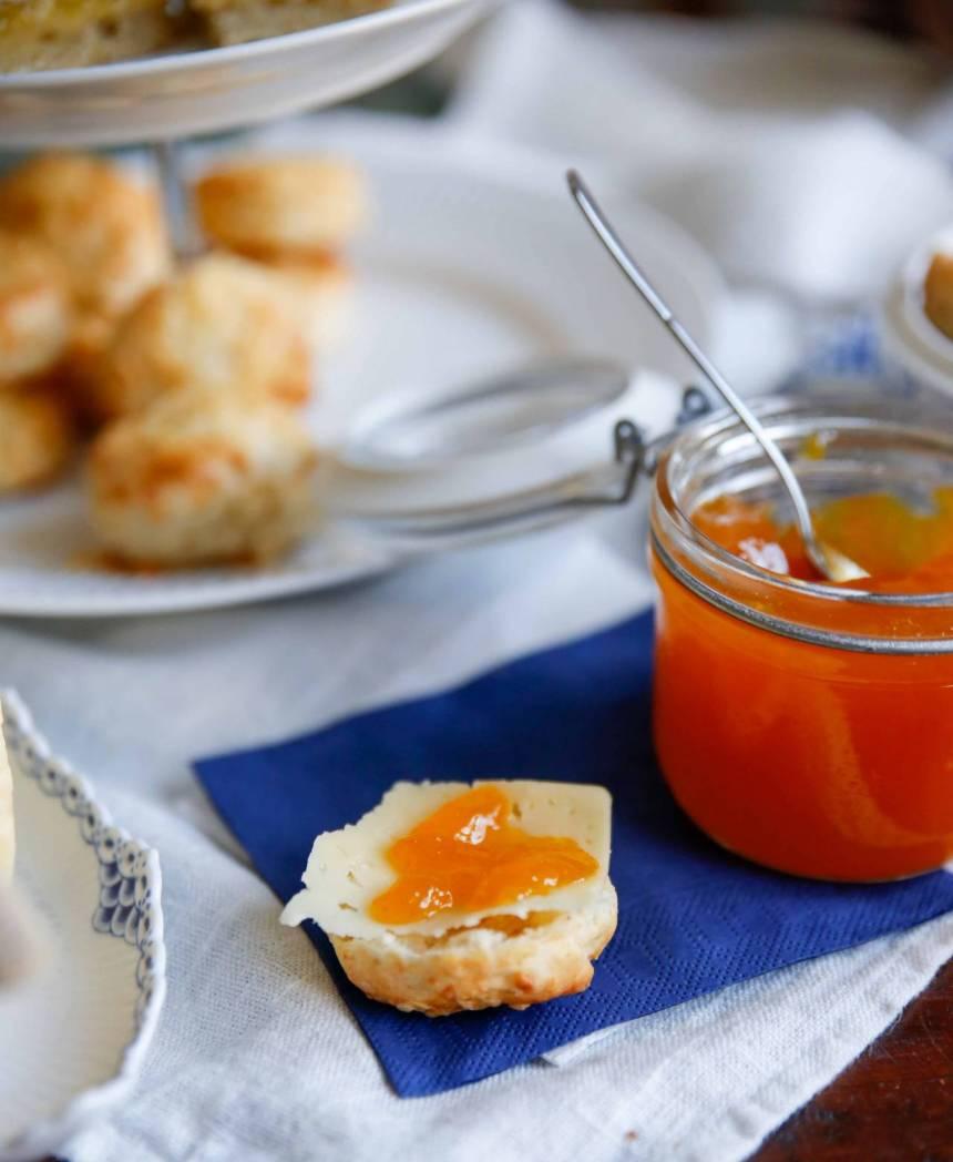 havtorn och apelsinmarmelad