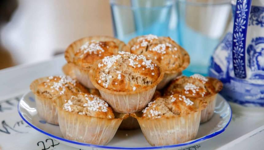 snabba muffins recept