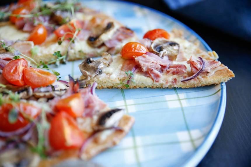 enkel glutenfri pizzadeg