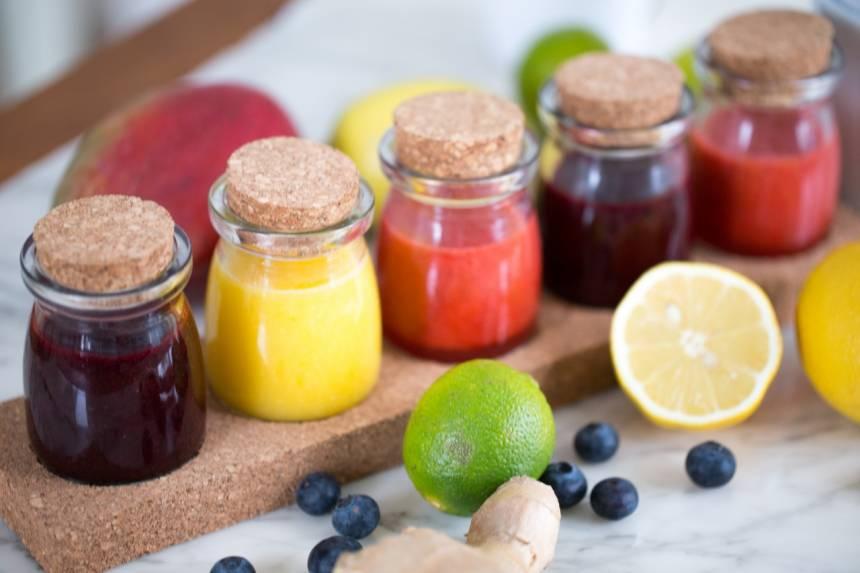 ingefärashot, enkelt recept som du snabbt gör på morgonen!