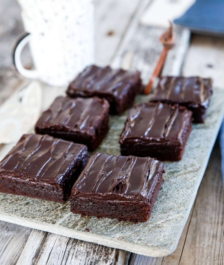 recept på brownie