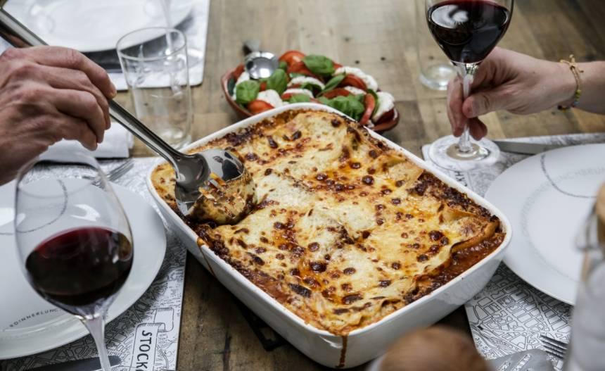 Fredriks godaste recept på lasagne