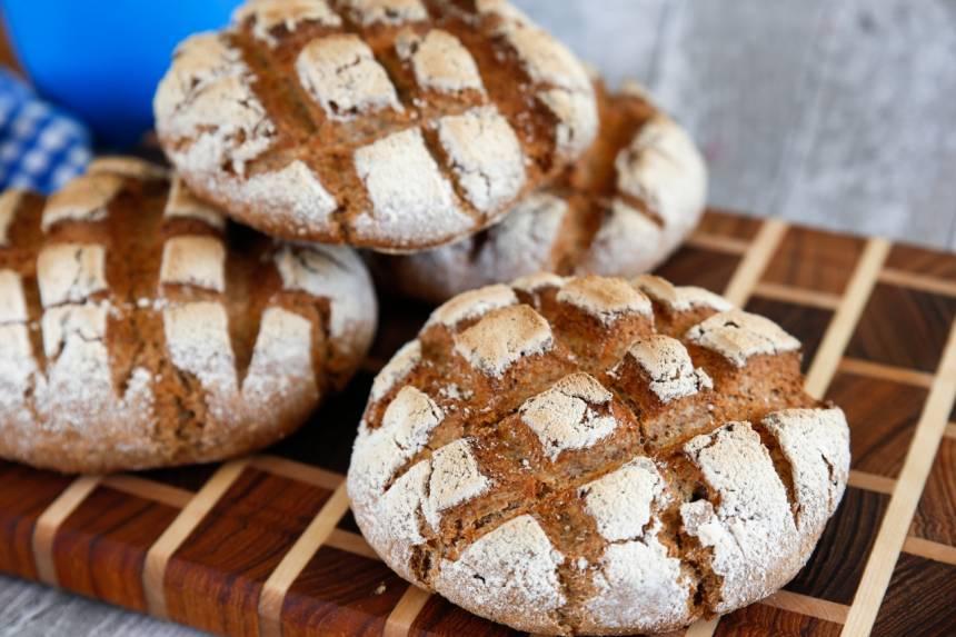 Bröd med dinkelmjöl